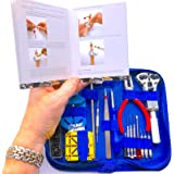 EZTool Professional Watch Repair Tool Kit: Plus 41-Page Illustrated Maintenance & Service Manual