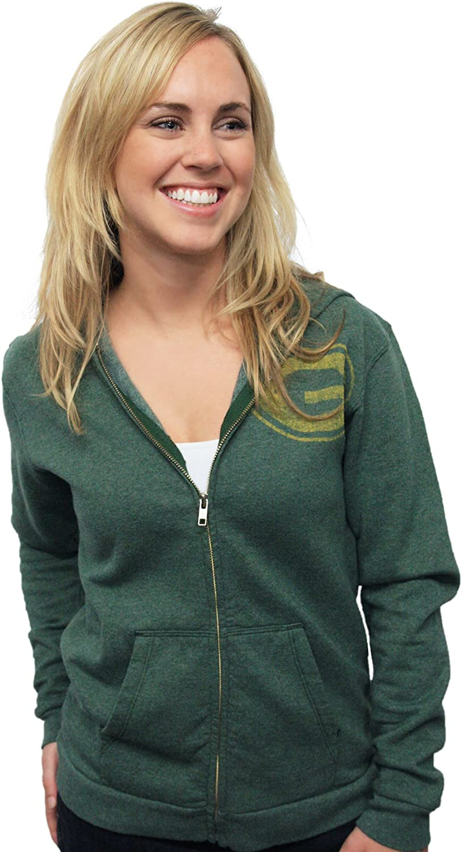 NFL Green Bay Packers Vintage Hooded Sweatshirt Women's