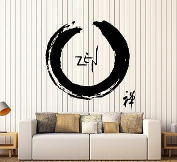 Amazon.com: calcomanía decorativo para pared Buda Zen Enso ...