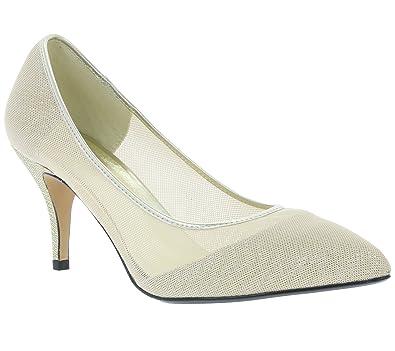 eb512274bfc61c Heine Heel Women s Pumps Gold 198328  Amazon.co.uk  Shoes   Bags
