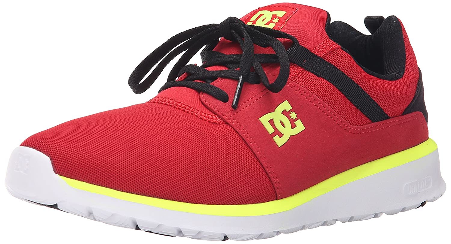 DC Men's Heathrow Casual Skate Shoe B00Z7MNW38 8.5 M US|Black/Red/Yellow