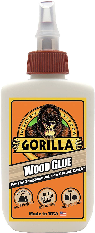 Gorilla Wood Glue, 4 ounce Bottle