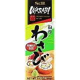 S&B Prepared Wasabi in Tube, Family Size, 3.17 oz (90 g)