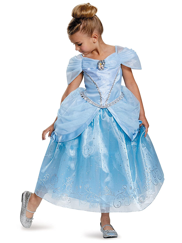 Toys Division 98424L Prestige Disney Princess Cinderella Costume Small//4-6X Disguise Costumes