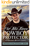 Her Fake-Fiance Cowboy Protector: Western Romance Novel (Brothers of Miller Ranch Book 4)