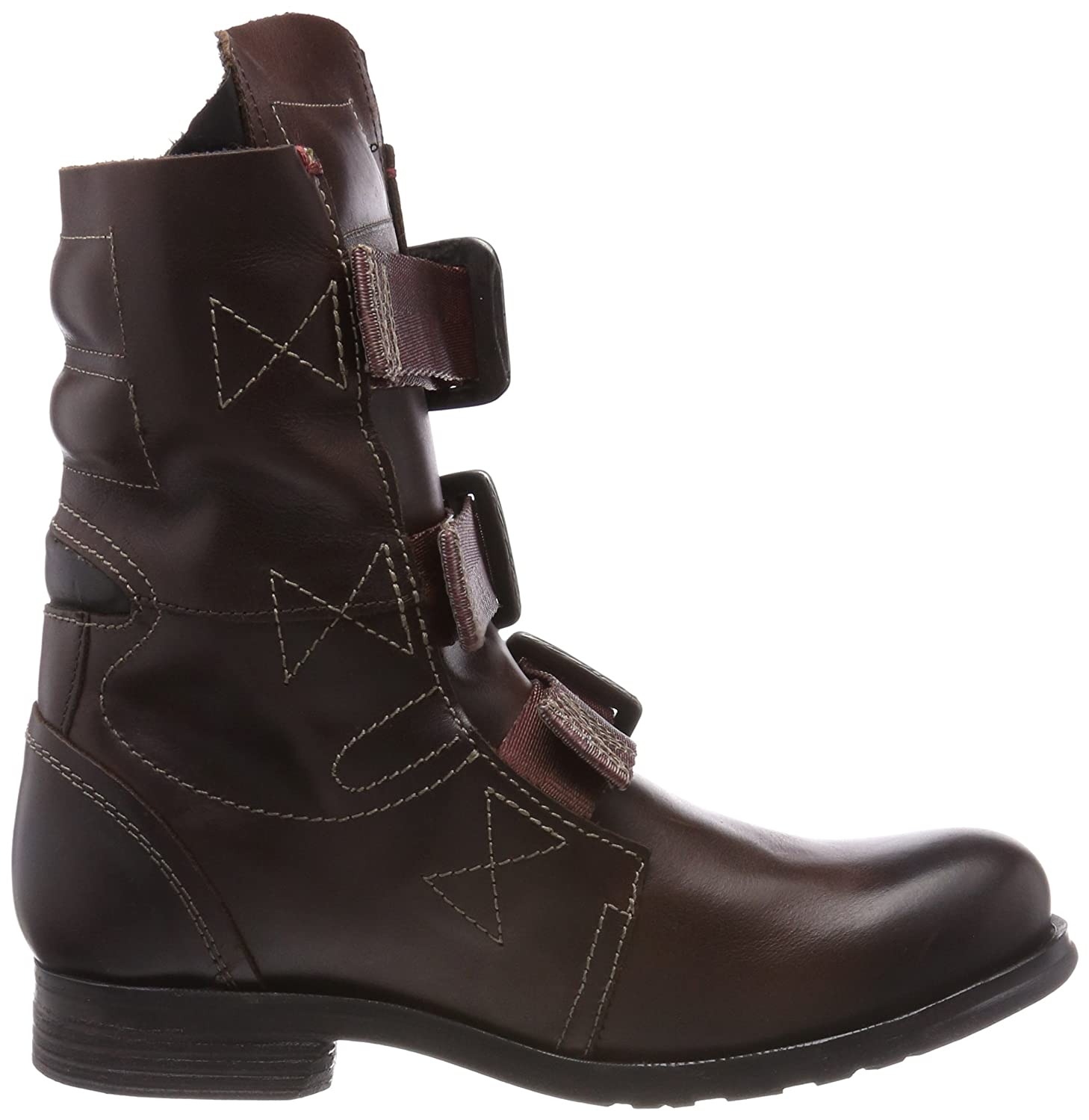 FLY London Women's Stif Ankle - Boot B00BDBKN6G 4 UK - Ankle 6 US - 37 EU|Dark Brown Rug 1f182a