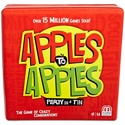 Apples to Apples Party Box the Game of Hilarious Comparisons: Toys & Games