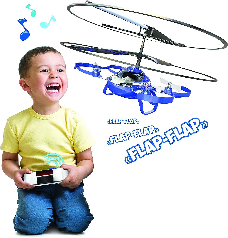 Drone-Silverlit – Mi Primer, Juguetes para niños, pequeños, Interior, Fácil de Volar, protección de hélices 84773