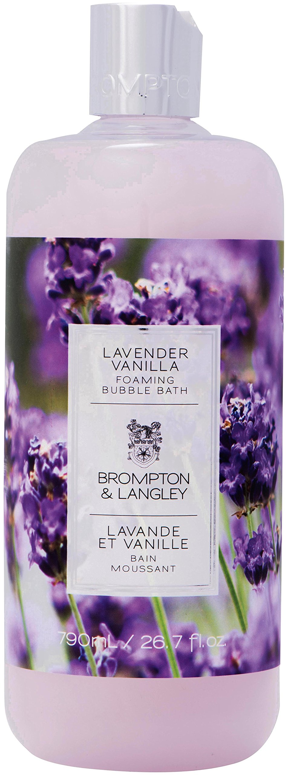 Brompton & Langley Foaming Bubble Bath, Lavender Vanilla