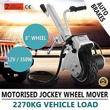 Autovictoria Jockey Rueda Wheel Soporte 12V 350W Rueda Jockey Motorizado Remolque De La Energía Eléctrica Mover
