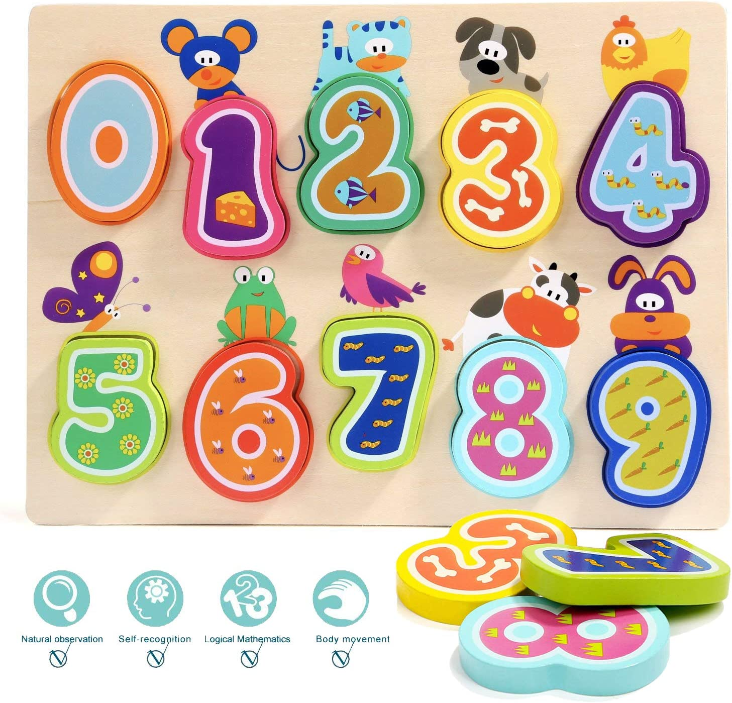 Gifts For 1 Year Old.Amazon Com Top Bright Puzzles Toys For 1 Year Old Girl Boy Gifts And One Year Old Girl Boy Toys For Toddlers Toys Games
