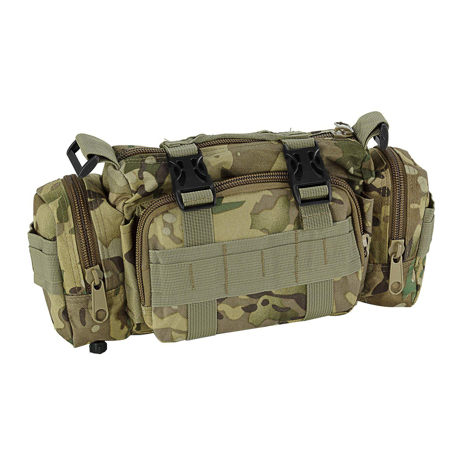 CVLIFE 60L Built-up Military Tactical Army Outdoor Backpacks Assault Combat Rucksack Heavy Bag CP by CVLIFE (Image #6)