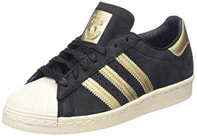 4f7d47d12a adidas Originals Women's Superstar 80s 999 W Trainers, (Core Black), 3.5 UK