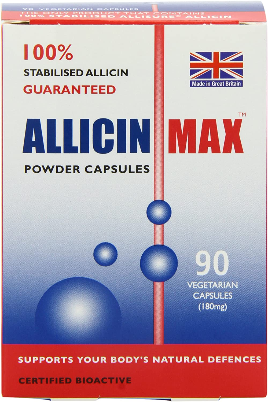 Allicinmax SGK 100 Percent Pure Capsules Pack of 90