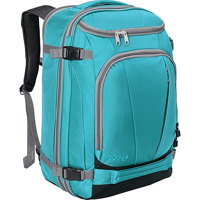The eBags TLS Mother Lode Weekender Convertible Carry-On Travel Backpack travel product recommended by Julien Casanova on Lifney.
