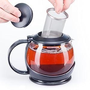 bobuCuisine Tea Pot Globe with Cozy Warmer