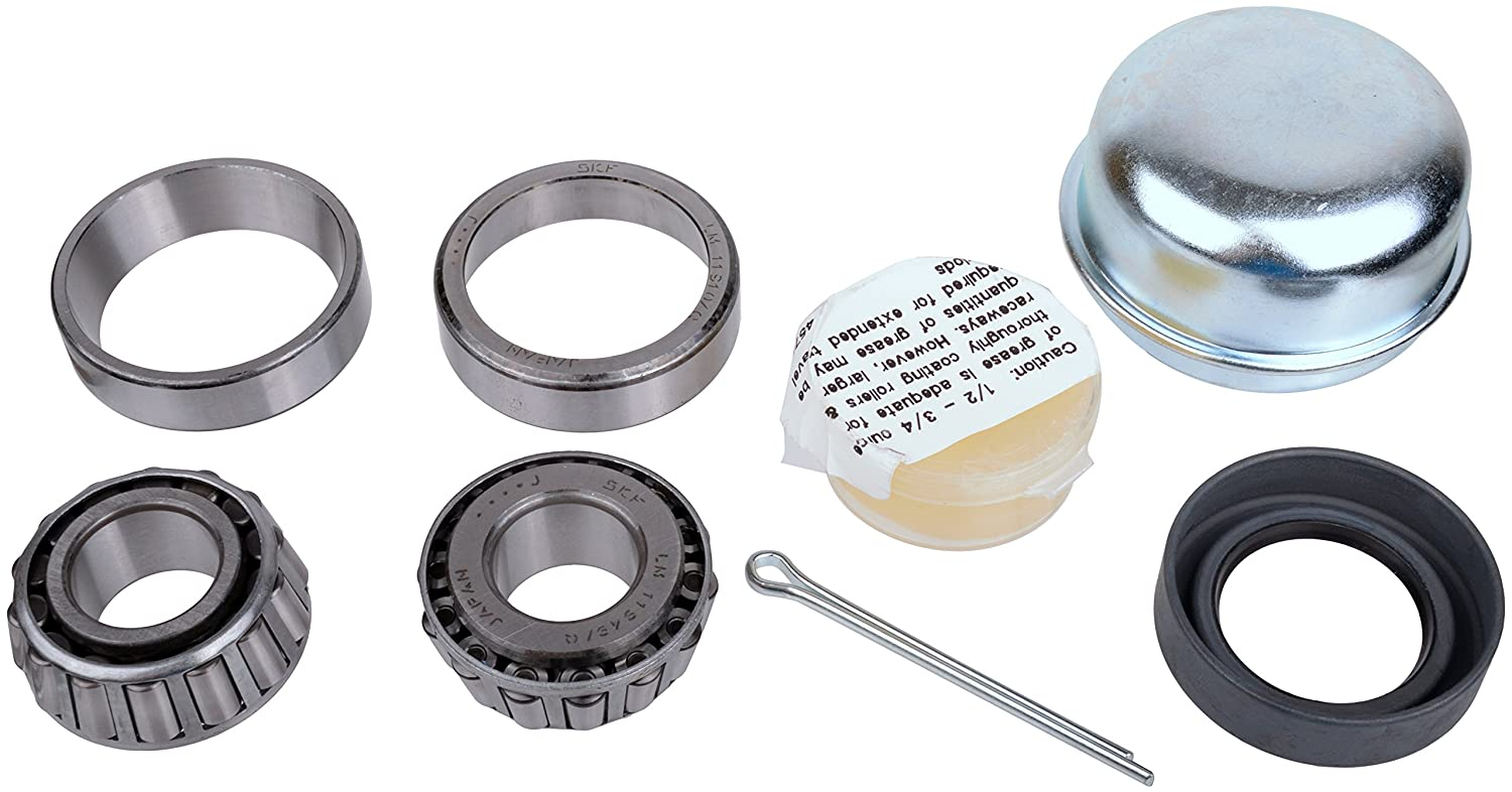 3//4-Inch Axle SKF 22 Recreational Trailer Seal and Bearing Kit