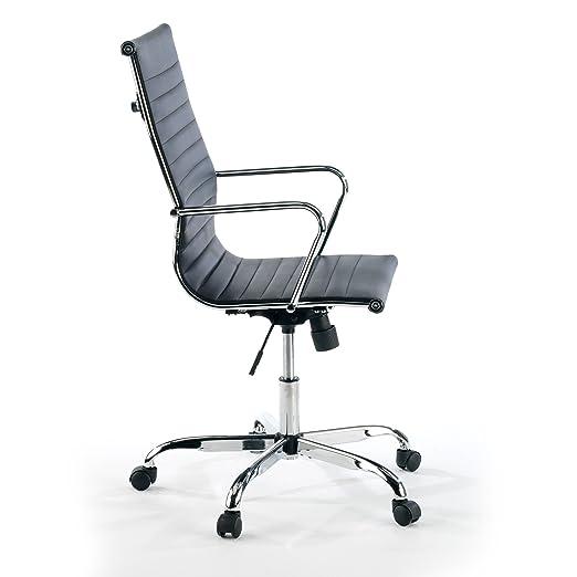 ofiprix (Acer Sillón Giratorio para despacho o Oficina, Respaldo Alto Polipiel, Color Negro