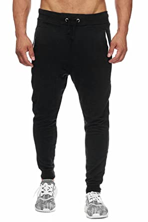 BELLIS® Herren Jogginghose Sweatpants Birds 20119, black, S