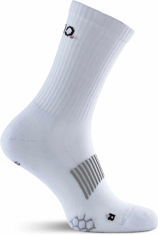 Tennis Performance Sport Socks da Uomo e da Donna Eono Essentials Calzini Sportivi Fitness da 3 Pezzi 43-46 Uso Tutto LAnno White Basket