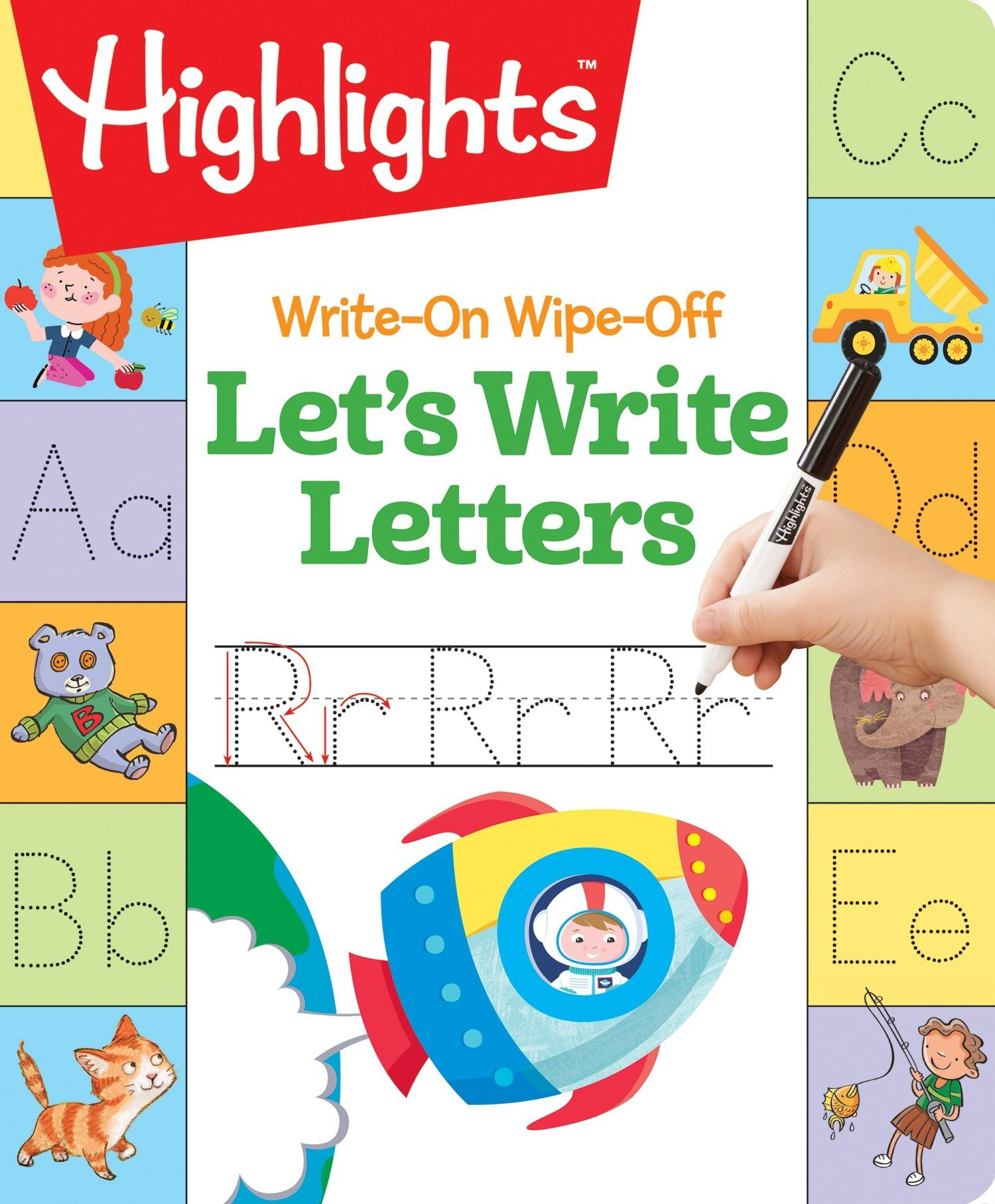 Write-On Wipe-Off Let's Write Letters (Highlights Write-On Wipe-Off Fun to Learn Activity Books)