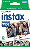 Instax Film Single PK (10 Sheets Gloss) Suitable for Instax 210wide & Instax 300wide