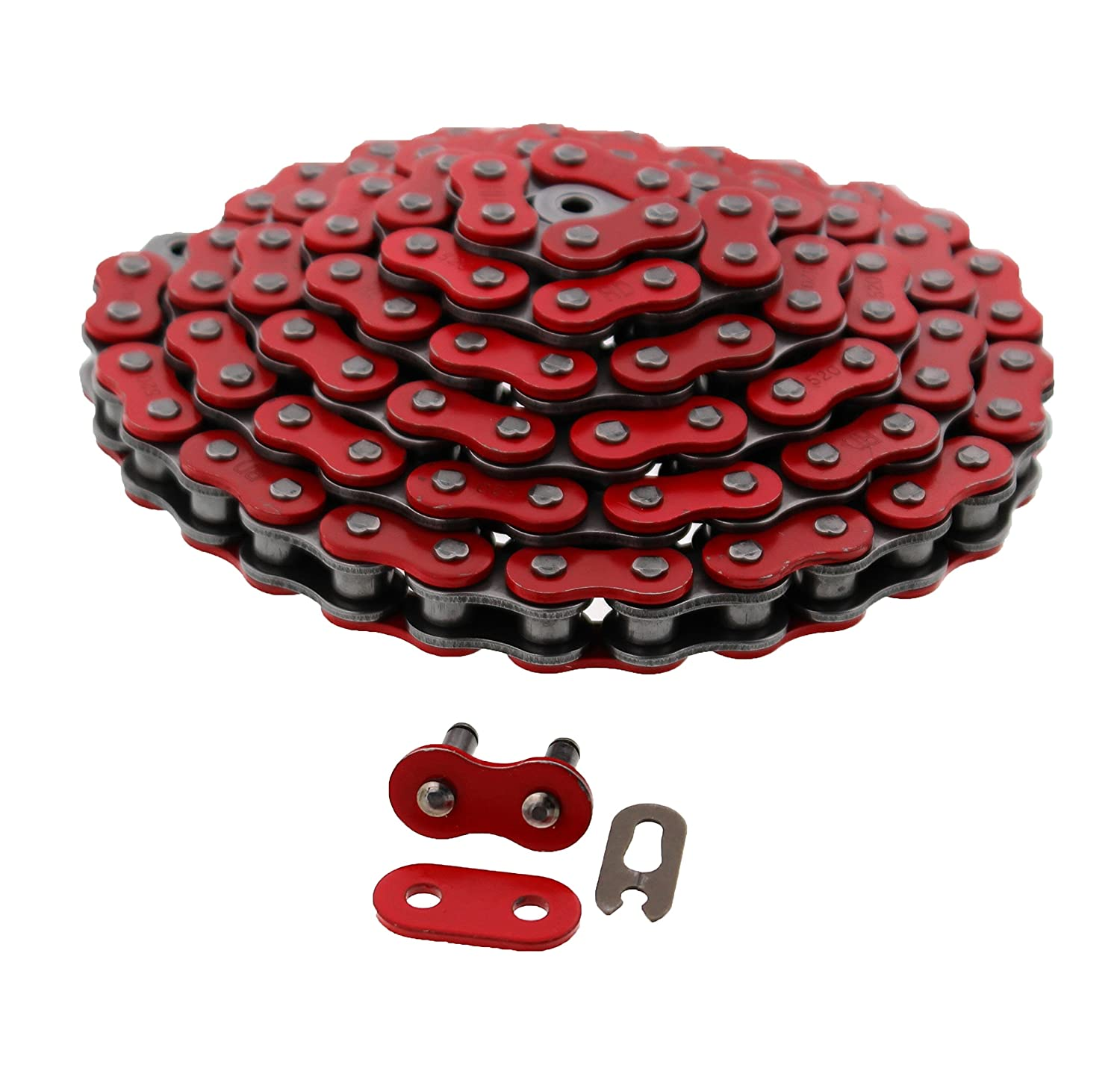 TRX400EX 2005-2008 Red O-Ring Chain /& Sprocket Set Honda TRX 400EX
