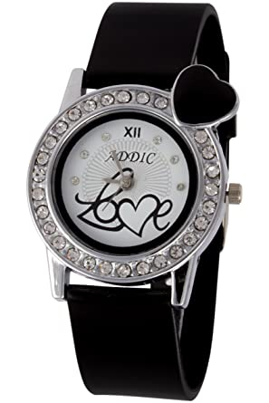 4eb22869f57 Buy Addic Analog White Dial Women s Watch - AddicLove1 Online at Low Prices  in India - Amazon.in