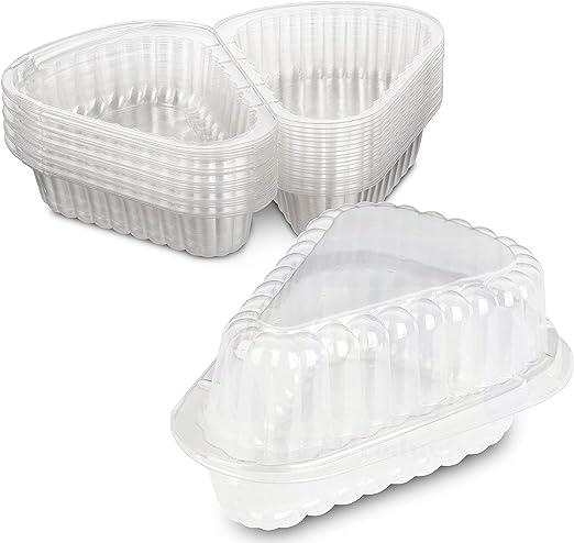 Plástico Pequeño Pie bisagras/Cheesecake/recipiente para ...