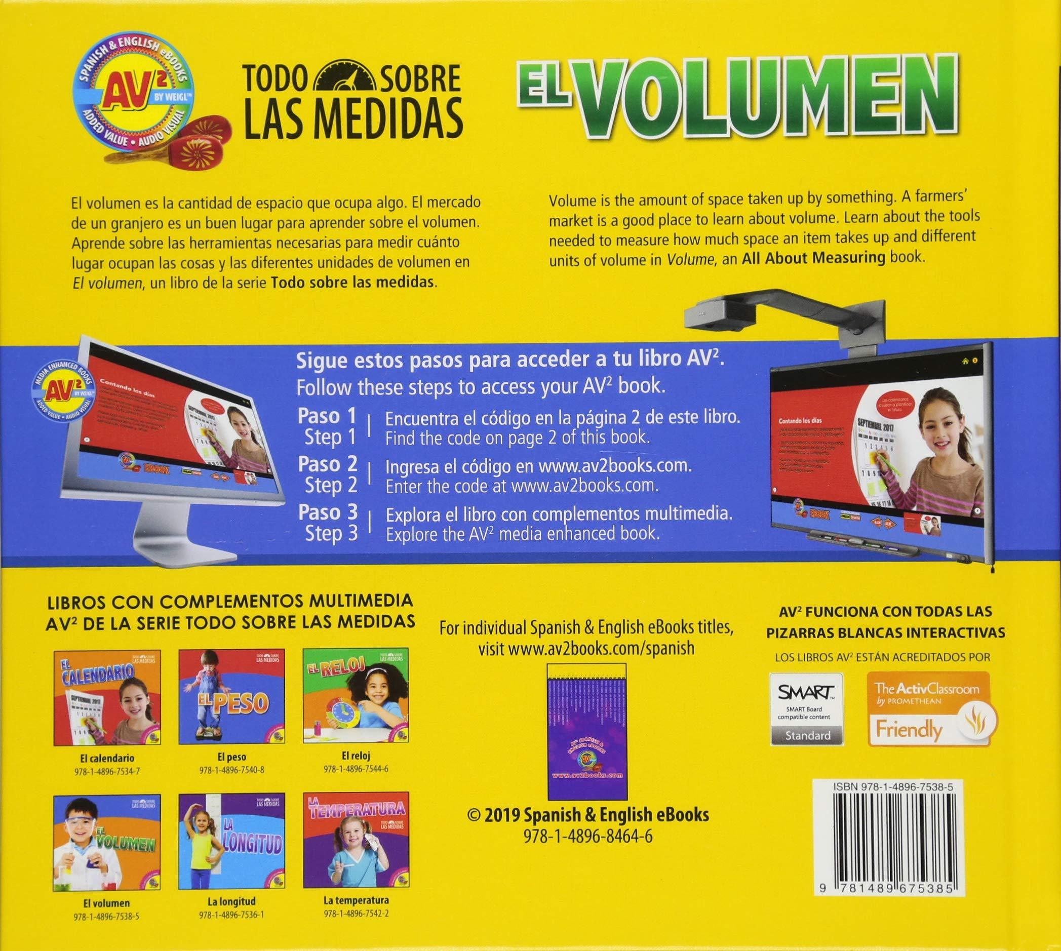 El volumen / Volume (Todo Sobre Las Medidas) (Spanish Edition ...