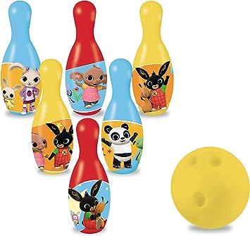 Mondo Mondo-28602 Toys-Set de Bowling Incluye 1 Pelota y 6 Bolos ...