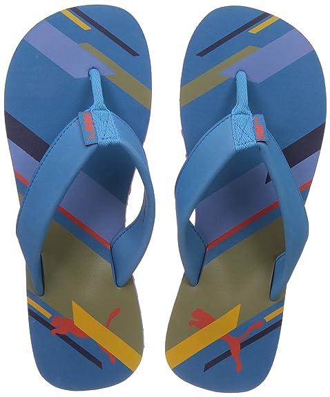 1c056cd967d6 Puma Men s Washy IDP Hawaiisurf-Specyell-Chertom Flip Flops Thong Sandals -  10 UK