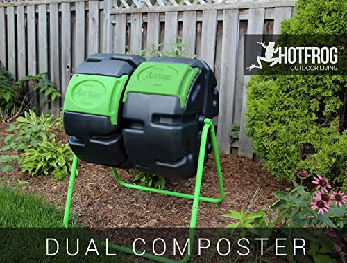 FCMP Outdoor HF-DBC4000 Dual Body HOTFROG Tumbling Composter