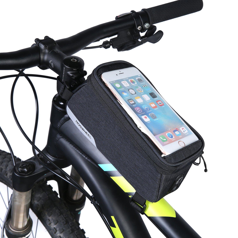 DCCN Fahrrad Rahmentasche Satteltasche Gepäckträgertasche für ...