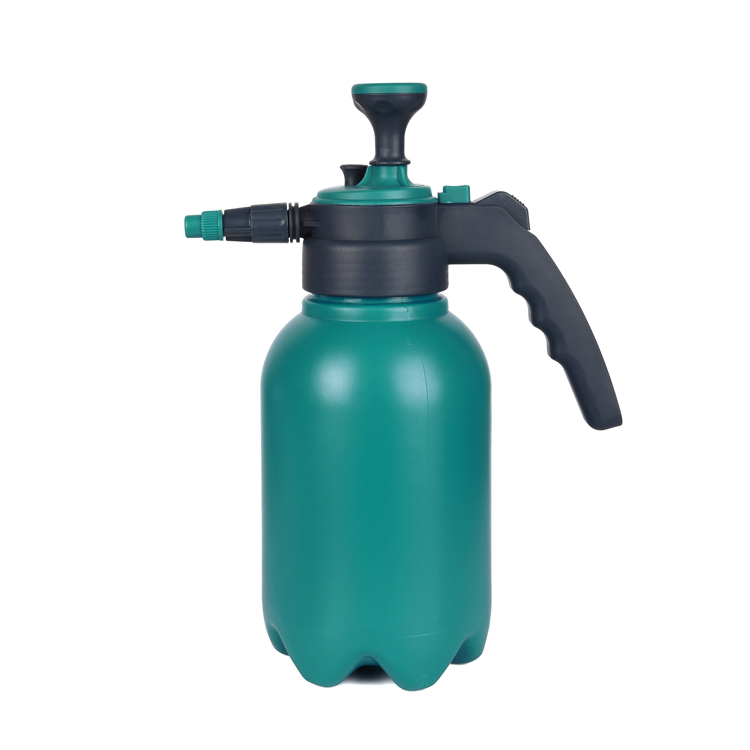 Planted Perfect Hand Garden Sprayer - 2L Handheld Pressure Sprayers Sprays Water, Chemicals, Pesticides, Neem Oil and Weeds - Perfect Lightweight Water Mister, Lawn Sprayer Combo - EBOOK BUNDLE (2L) by Planted Perfect
