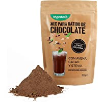 Mix para Batido de Chocolate con Avena, Cacao y Stevia, pack de 350gr de