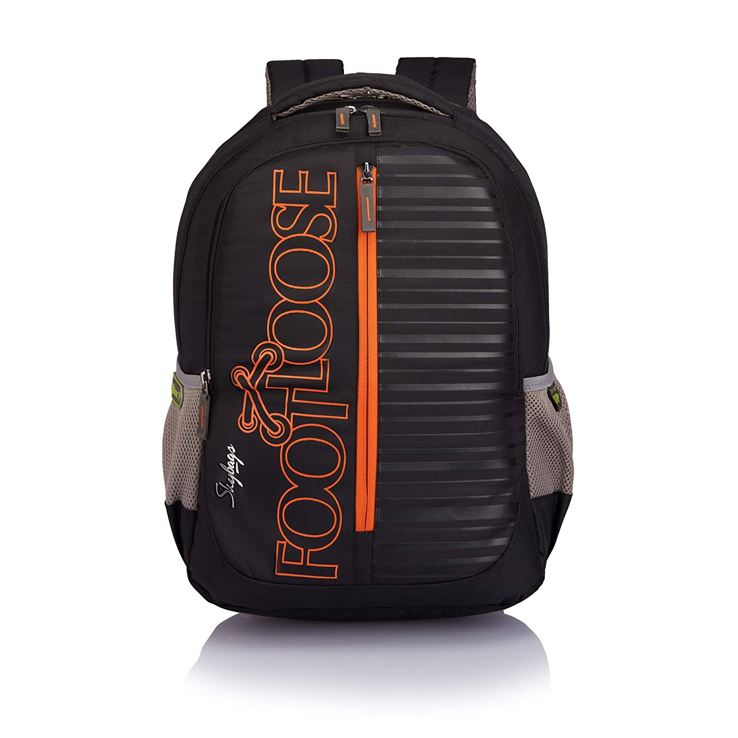Skybags Vough 33 Ltrs Black Laptop Backpack (LPBPVOGEBLK)