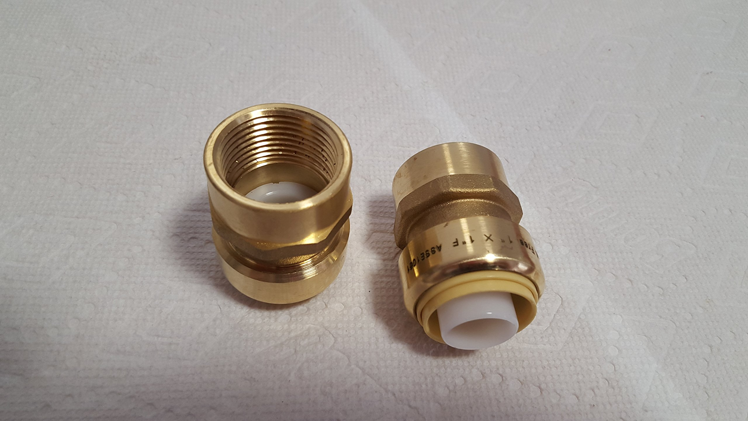 3/4'' FPT (Female Pipe Thread) Push Fitting~Bag of 10~Lead Free!
