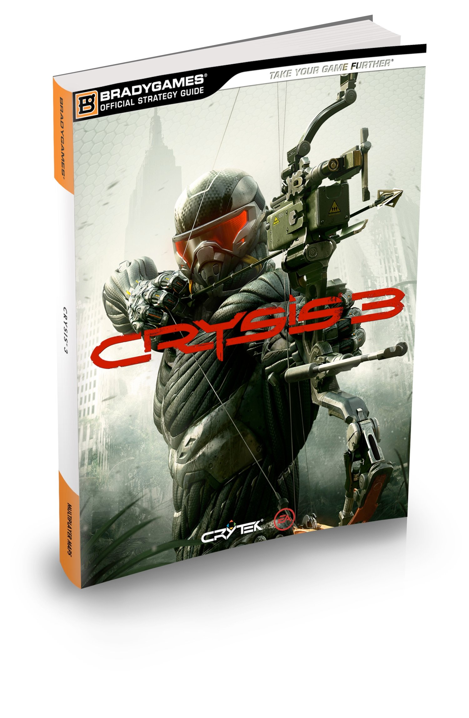 crysis 3 official strategy guide bradygames take your games further rh amazon com Galaxy of Heroes Strategy Guide ING Official Strategy Guide