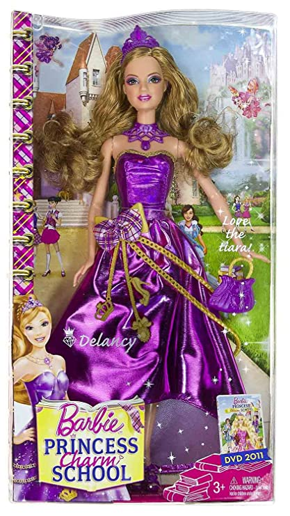 Captivating Delancy: Barbie Princess Charm School ~12u0026quot; Doll Figure