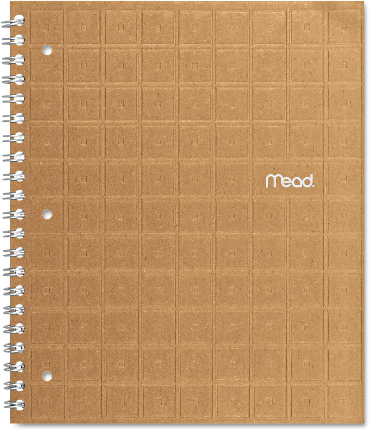 11 x 8 1//2 80 Sheets Perforated College Ruled Assorted Mead 06594 Recycled Notebook