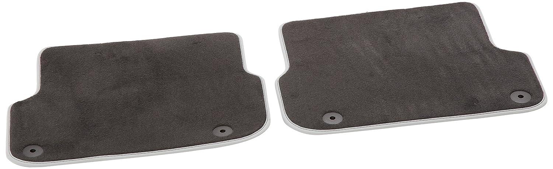 AUDI Genuine 4F0061276PAMNO Rear Premium Textile Floor Mat