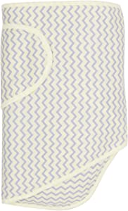 Miracle Blanket Swaddle Unisex Baby, Yellow Chevron