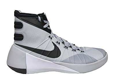 big sale cf4ac 34a0e Nike Hyperdunk 2015 Men Basketball Shoes SZ 12 Wolf Grey Black White .