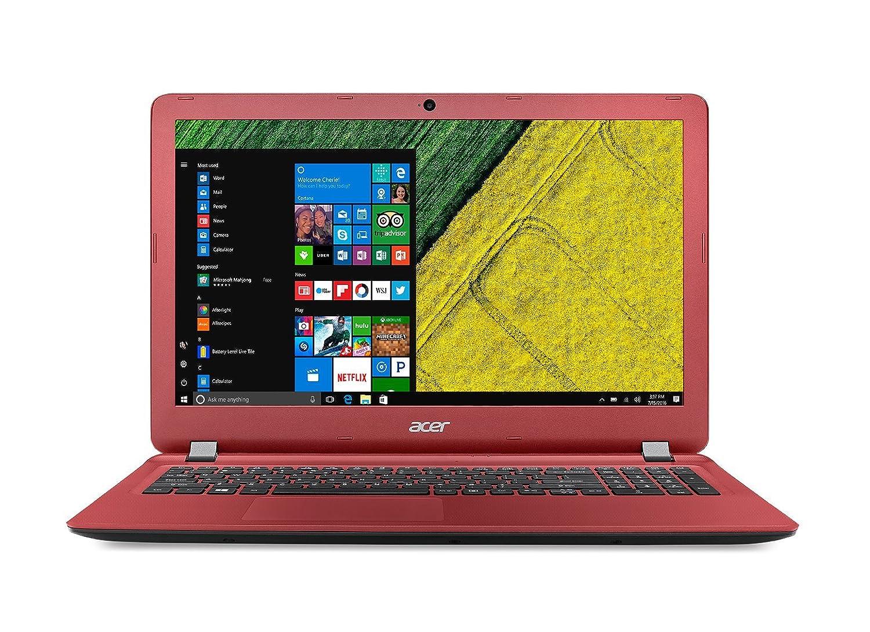 Acer Aspire ES 15 ES1-572, 15.6 inch (Red) - Intel Core i5-7200U, 8GB, 1TB  HDD, UMA, DVD-RW, Windows 10: Amazon.co.uk: Computers & Accessories