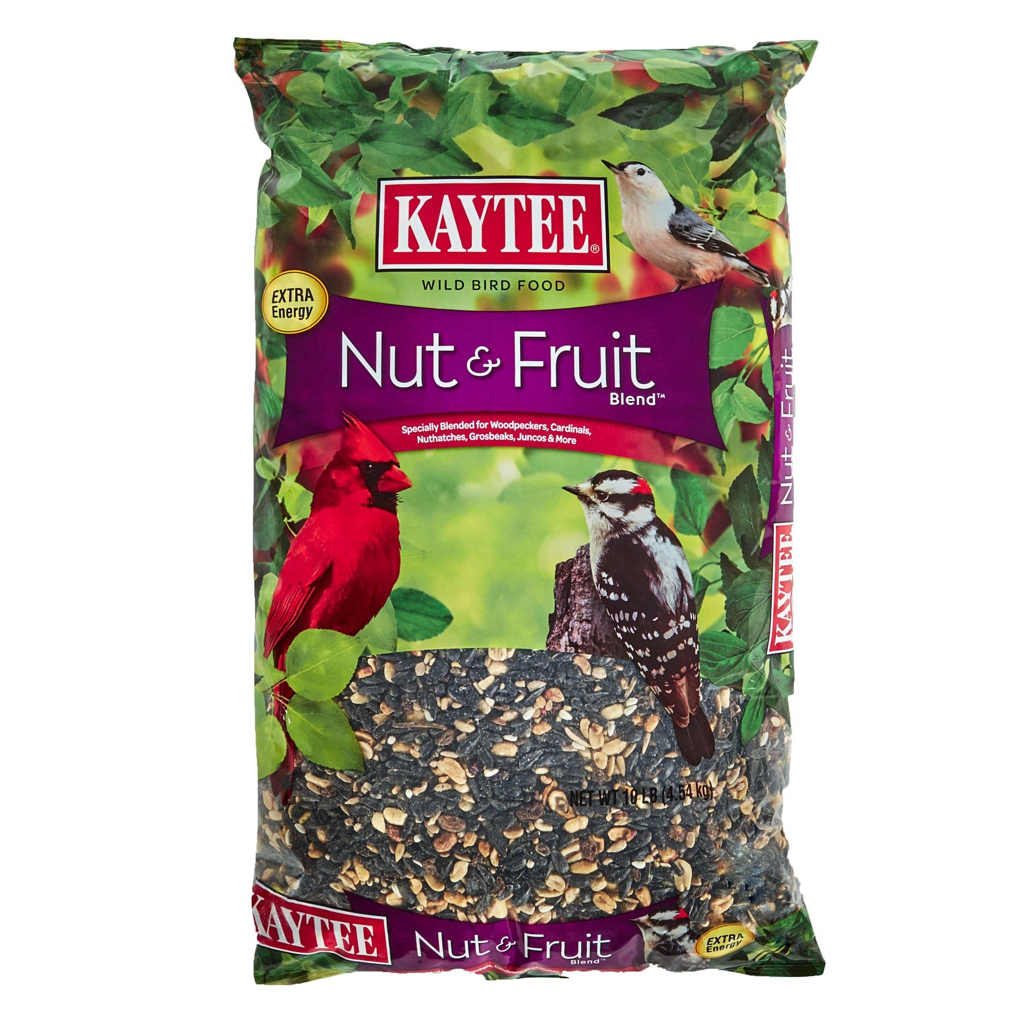 Kaytee Nut and Fruit Blend, 10-Pound Bag