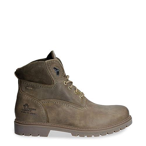 Botas de Hombre PANAMA JACK Amur GTX C19 Nobuck Kaki: Amazon.es: Zapatos y complementos