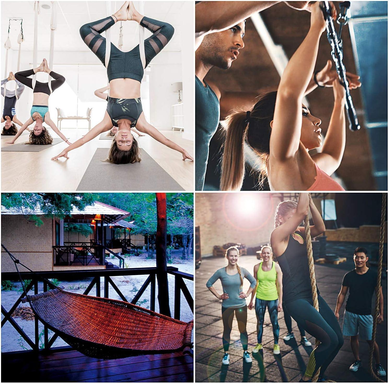 Heavy Duty Swing Hangers 900KG Capacity FORMIZON Set of 2 Swing Hangers Hooks Stainless Steel 180/°Swivel Hammock Hooks for Concrete Wooden Sets Yoga Hammock Chair Sandbag Swing
