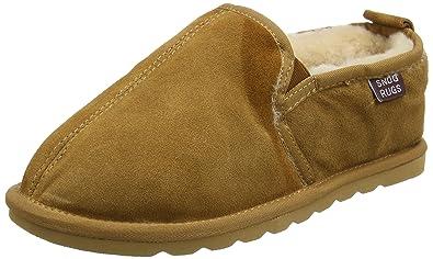 0f075dbc6bd Snugrugs Men s Sheepskin Slipper with Hard Sole  Amazon.co.uk  Shoes ...