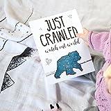 JumpOff Jo Baby Milestone Cards, Mama Blue Bear